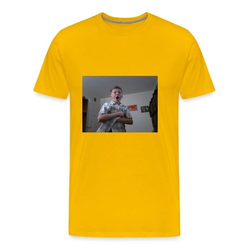 Xavier bongo hoodie/ wow - Men's Premium T-Shirt