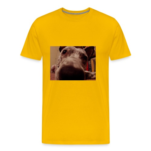 nosy puppy - Men's Premium T-Shirt
