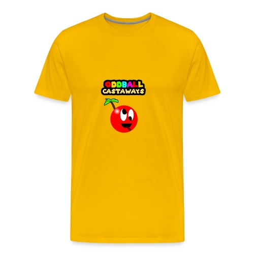 Oddball Mascot and Logo - Men's Premium T-Shirt