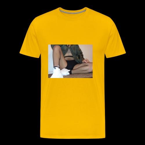 self modeled - Men's Premium T-Shirt