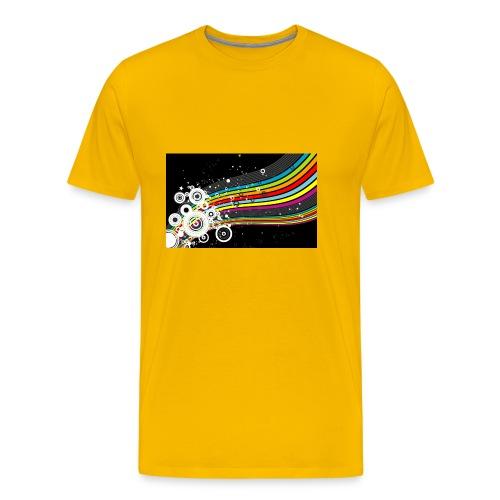 scrapbook desktop wallpaper cool designs design - Men's Premium T-Shirt