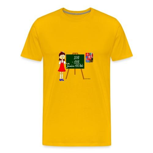 100 years of Czechoslovakia - Men's Premium T-Shirt