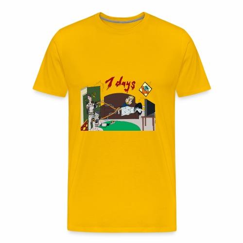 7 Day Bust - Men's Premium T-Shirt