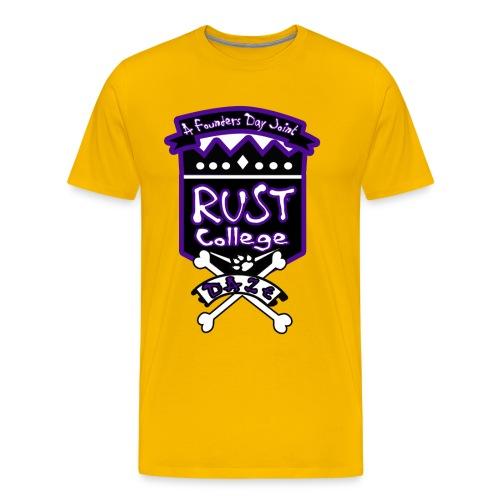 RCFDW17purple - Men's Premium T-Shirt