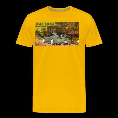 S2000 going through the leaves - Men's Premium T-Shirt