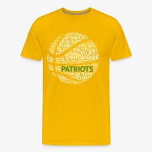 Pats Basketball White - Men's Premium T-Shirt