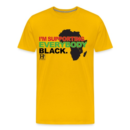 I'm Supporting Everybody Black - Men's Premium T-Shirt