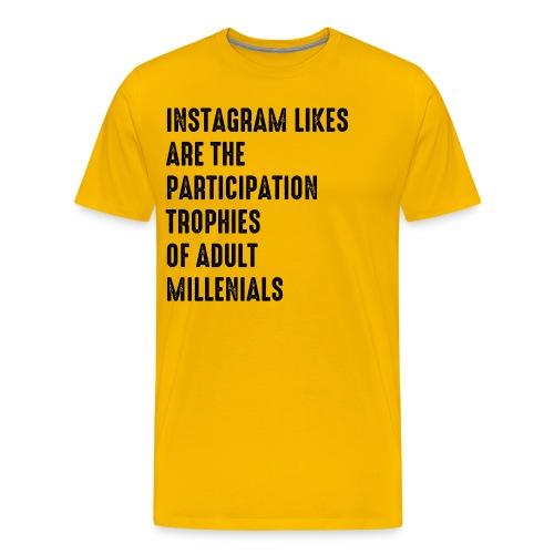 Instagram - Men's Premium T-Shirt