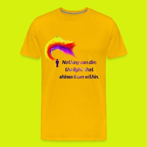 Motivational Quote - Men's Premium T-Shirt
