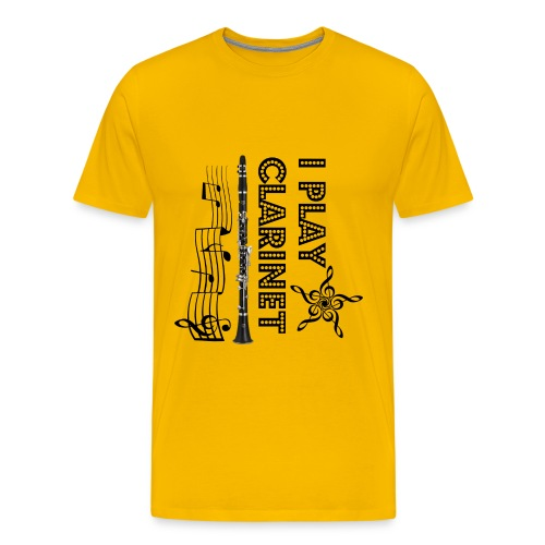 i play clarinet - Men's Premium T-Shirt