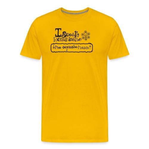 ispeakdominicano1 - Men's Premium T-Shirt