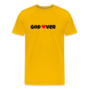 Godlover #PandaDesign - Men's Premium T-Shirt
