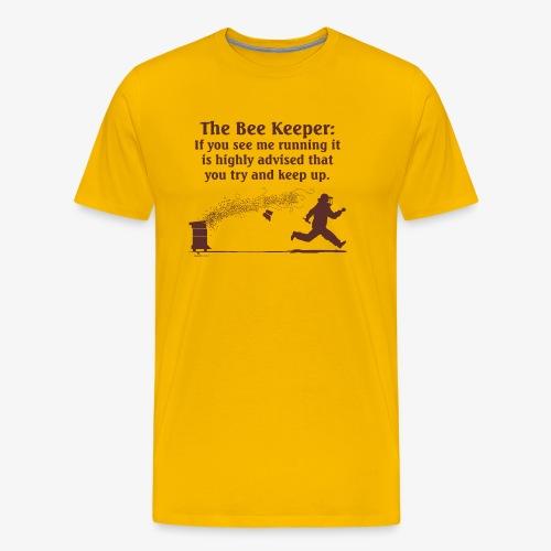 The Bee Keeper - Men's Premium T-Shirt