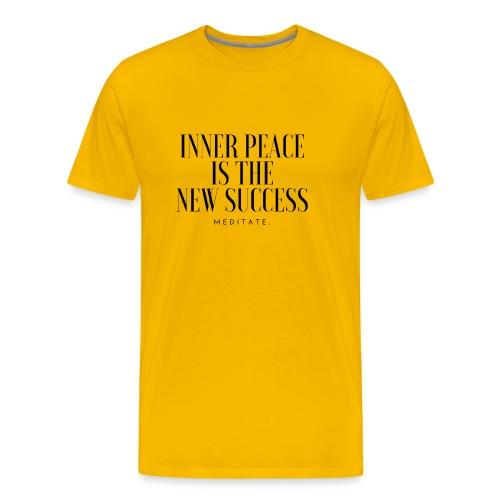 Inner Peace is the new Success. Meditate - Men's Premium T-Shirt