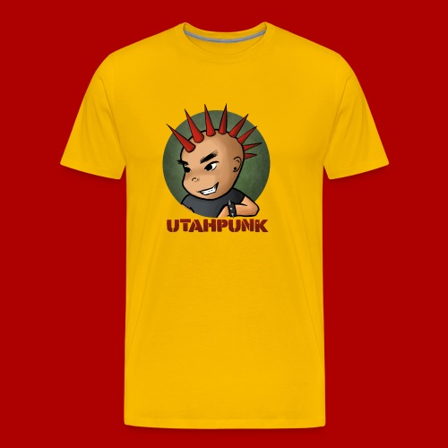 Utahpunk Logo - Men's Premium T-Shirt