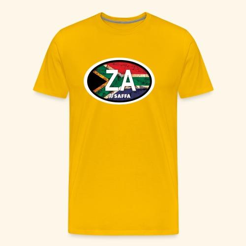 ZA#saffa - Men's Premium T-Shirt