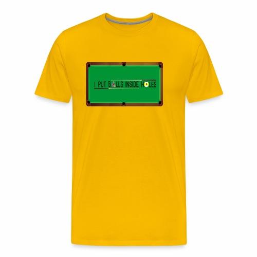 billiards table - Men's Premium T-Shirt