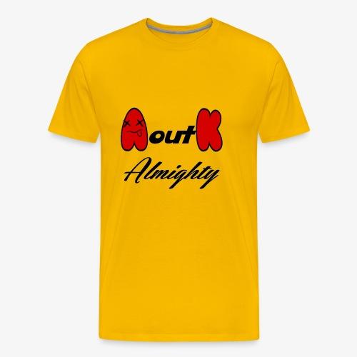 a out k - Men's Premium T-Shirt
