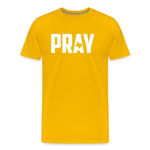 Pray For Texas - Men's Premium T-Shirt