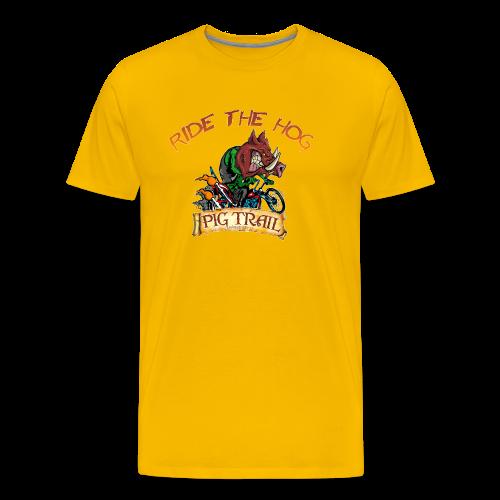 Ride the Hog T-Shirt - Men's Premium T-Shirt