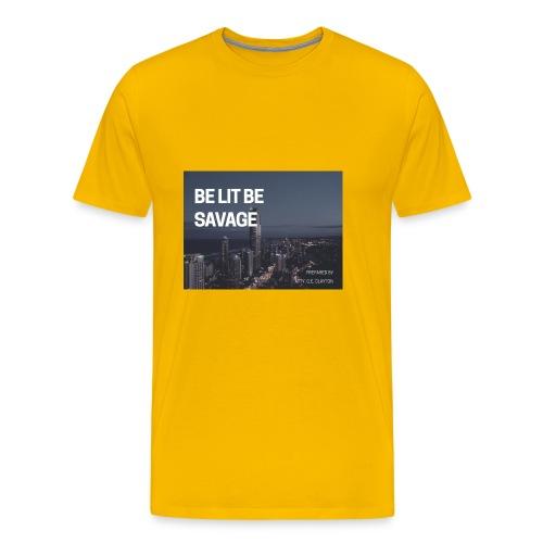 17C025B5 D32D 4FB1 834E 73D2D594C3E7 - Men's Premium T-Shirt