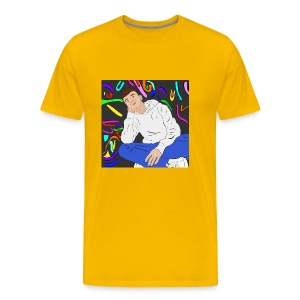 Adam graffiti - Men's Premium T-Shirt