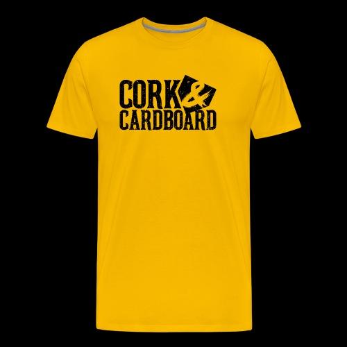 Cork & Cardboard - Steel City - Men's Premium T-Shirt