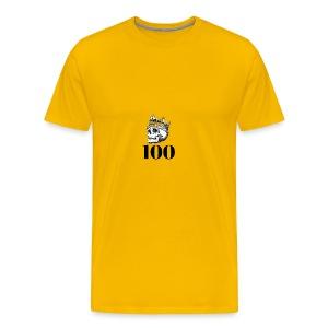 100 subs merch - Men's Premium T-Shirt