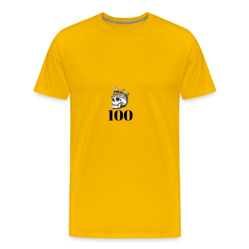 100 subs merch - Men's Premium T-Shirt