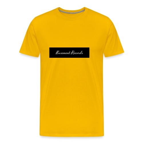 Basement Records - Men's Premium T-Shirt