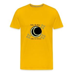 Follow The Moon - Men's Premium T-Shirt