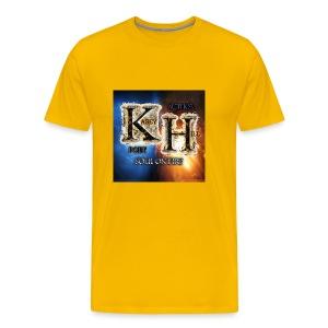 K.H. logo - Men's Premium T-Shirt