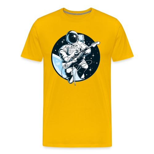 Astronaut Guitar - Men's Premium T-Shirt