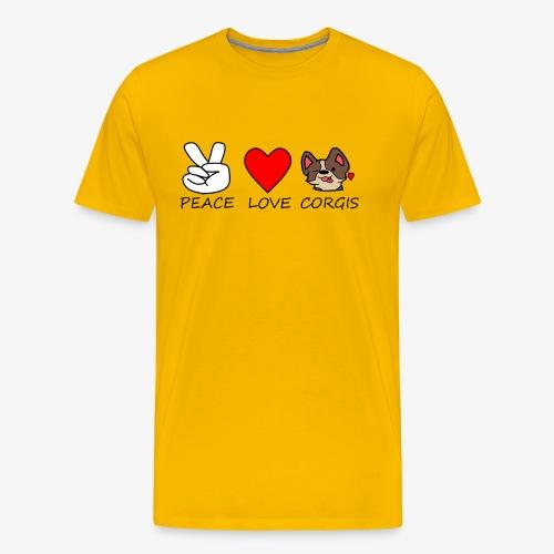 Rosie The Corgi Official Logo - Men's Premium T-Shirt