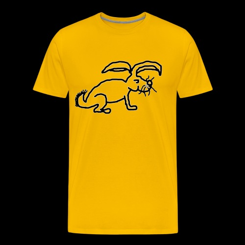 Rabbit Logo 1 - Men's Premium T-Shirt