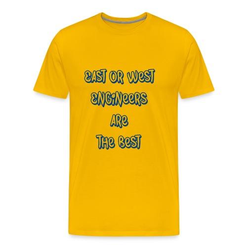 engineers blue - Men's Premium T-Shirt