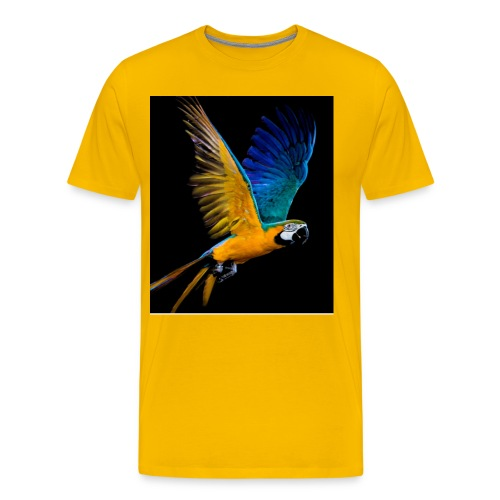 t-shirt clothes rack, parrot ,lory papagaio - Men's Premium T-Shirt