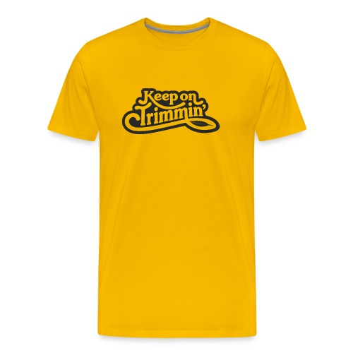 Keep on Trimmin _ blk - Men's Premium T-Shirt