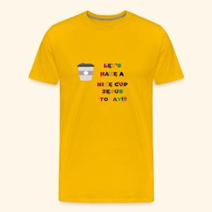 The cup - Men's Premium T-Shirt