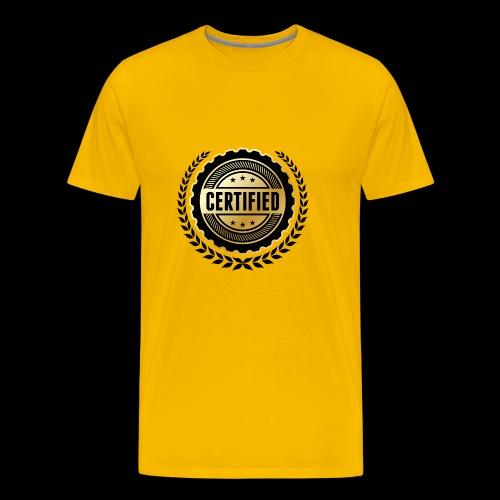 Block certified - Men's Premium T-Shirt
