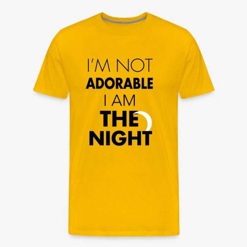 I'm not adorable - Men's Premium T-Shirt