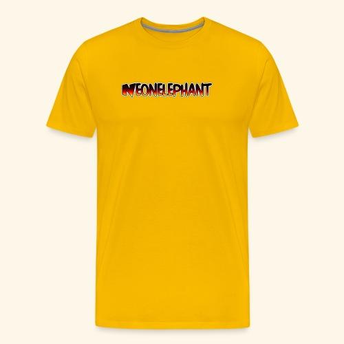 NEONELEPHANT - Men's Premium T-Shirt