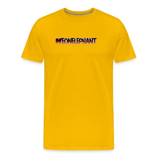 NEONELEPHANT - Men's Premium T-Shirt