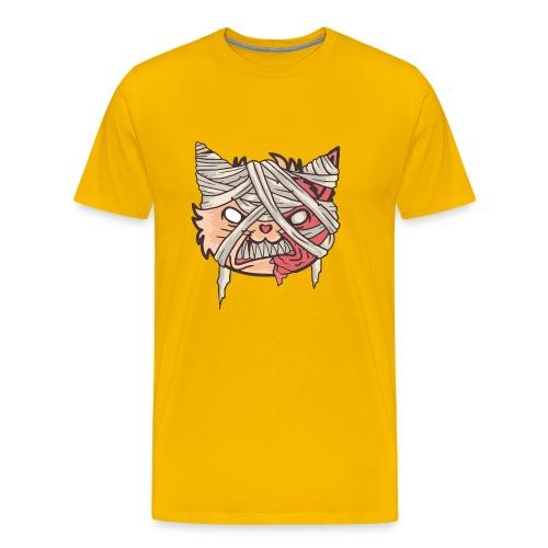 Mummy Cat - Men's Premium T-Shirt