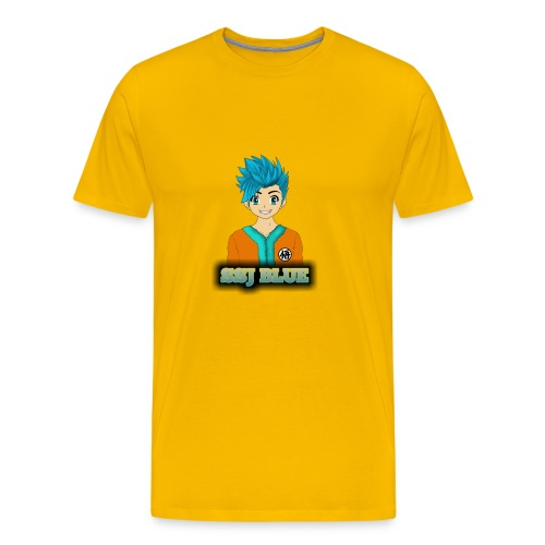 SSJ BLUE - Men's Premium T-Shirt