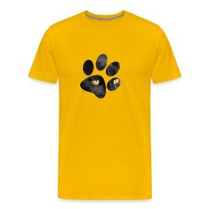 Black Cat's Paw T-shirt - Men's Premium T-Shirt