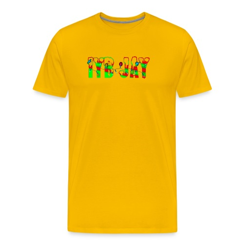 IYB JAY XMAS LOGO - Men's Premium T-Shirt