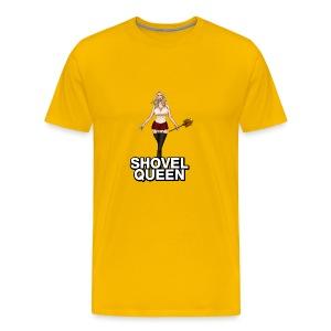 call of duty shovel queen - Men's Premium T-Shirt