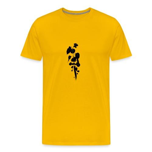 Silhouetted Plant - Men's Premium T-Shirt