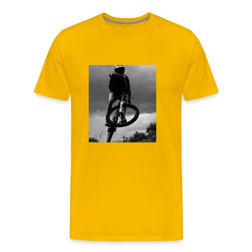 DOWNHILL. - Men's Premium T-Shirt